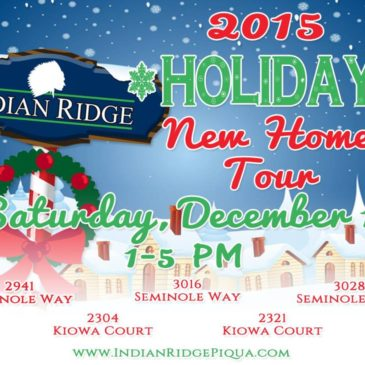 2015 HOLIDAY HOME TOUR – See 5 of PIQUA'S NEWEST HOMES!!!