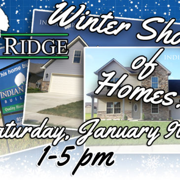 The Winter Showcase of Homes is January 9th!