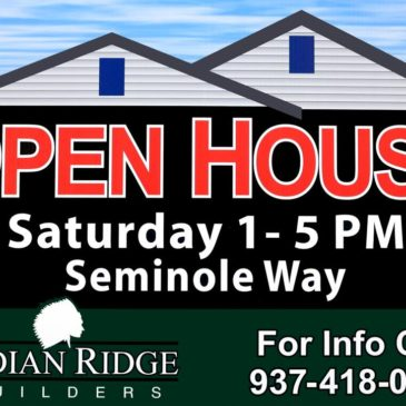 Open Houses Set for Saturday, March 19!