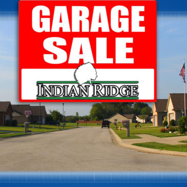 Indian Ridge Community Garage Sale Set for May 20 & 21!!!