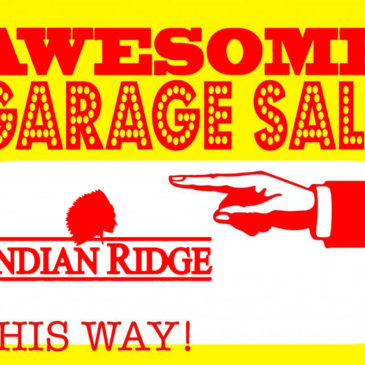 Indian Ridge Community Garage Sale –