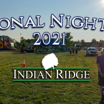 Thank you for visiting Indian Ridge for 2021's National Night Out!